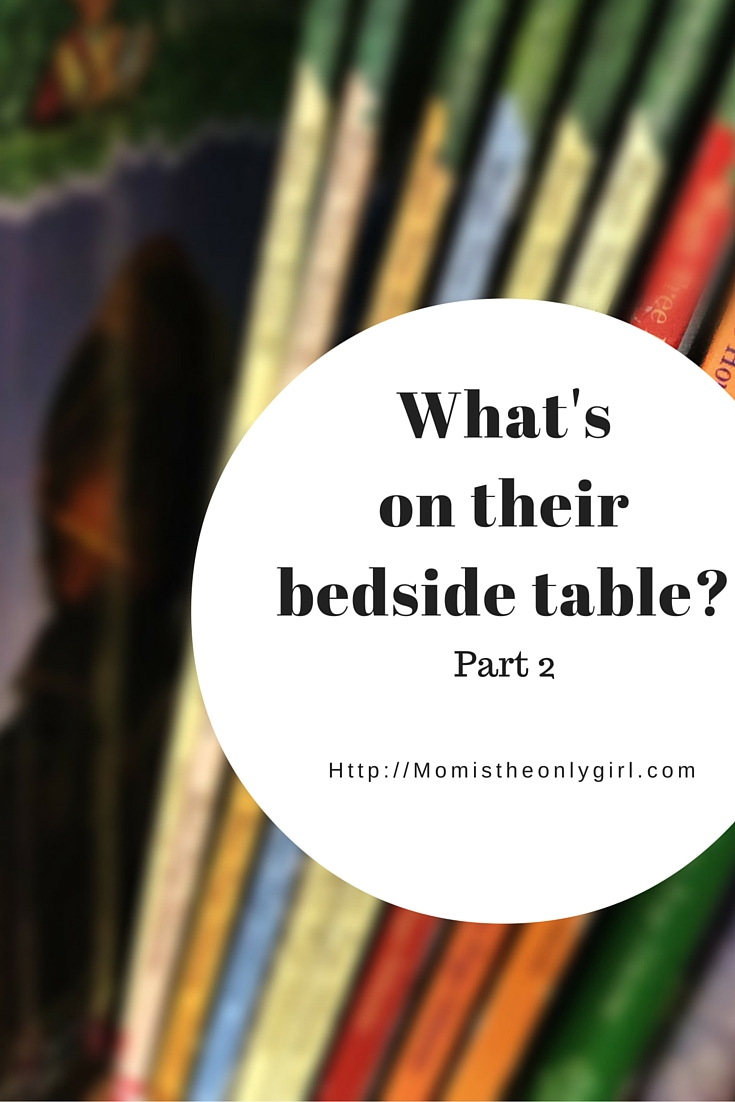 What's on their bedside table? Recommendations for 7 year olds by a 7 year old at https://momistheonlygirl.com